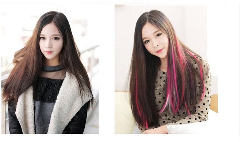 Nối tóc màu
