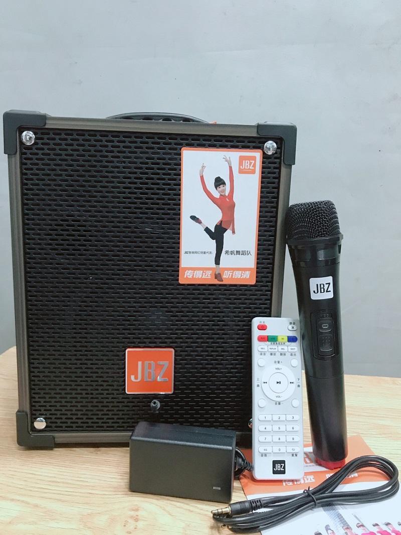 Loa karaoke mini jbz ne106 loa kéo di động