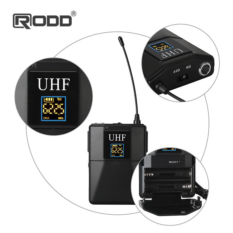 Máy trợ giảng UHF và micro cổ áo