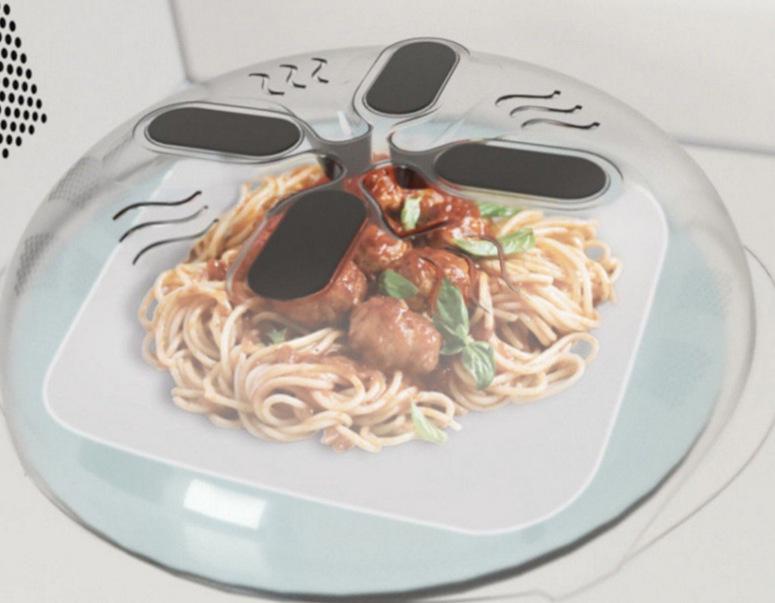 Nắp đậy thức ăn trong lò vi sóng