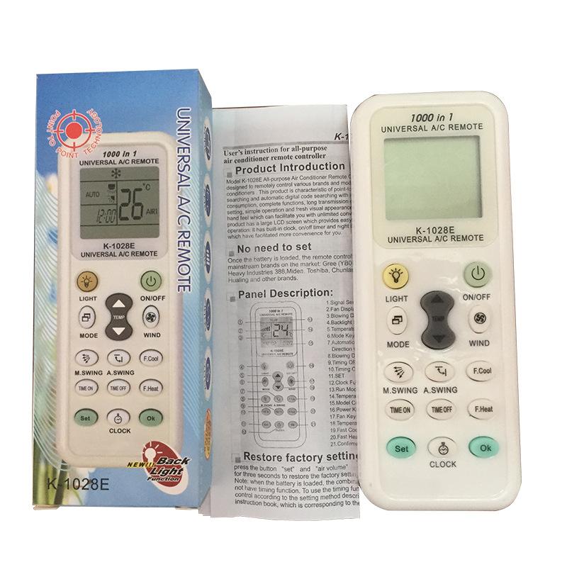 Điều khiển điều hòa đa năng K-1028E