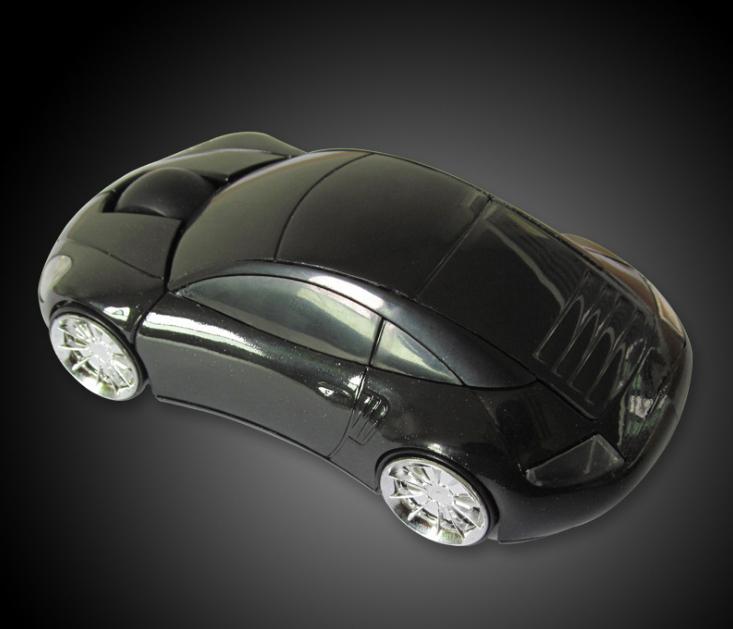 Chuột không dây hình xe hơi