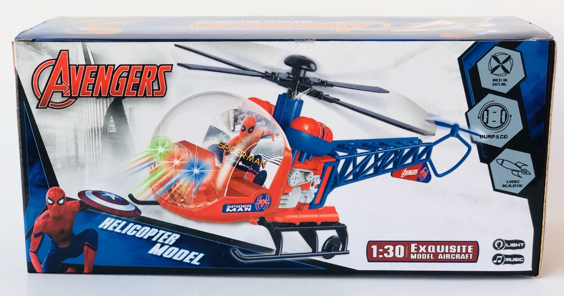 Đồ chơi máy bay trực thăng Avengers