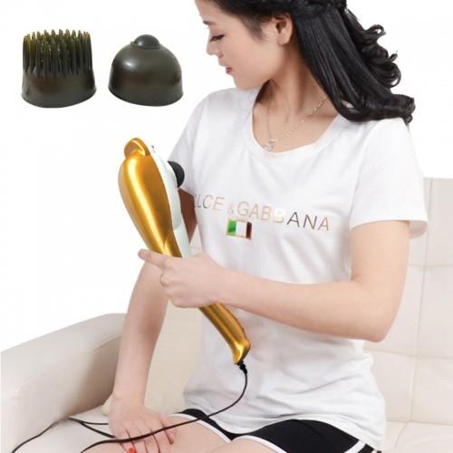 Máy massage cầm tay cá heo 3 đầu