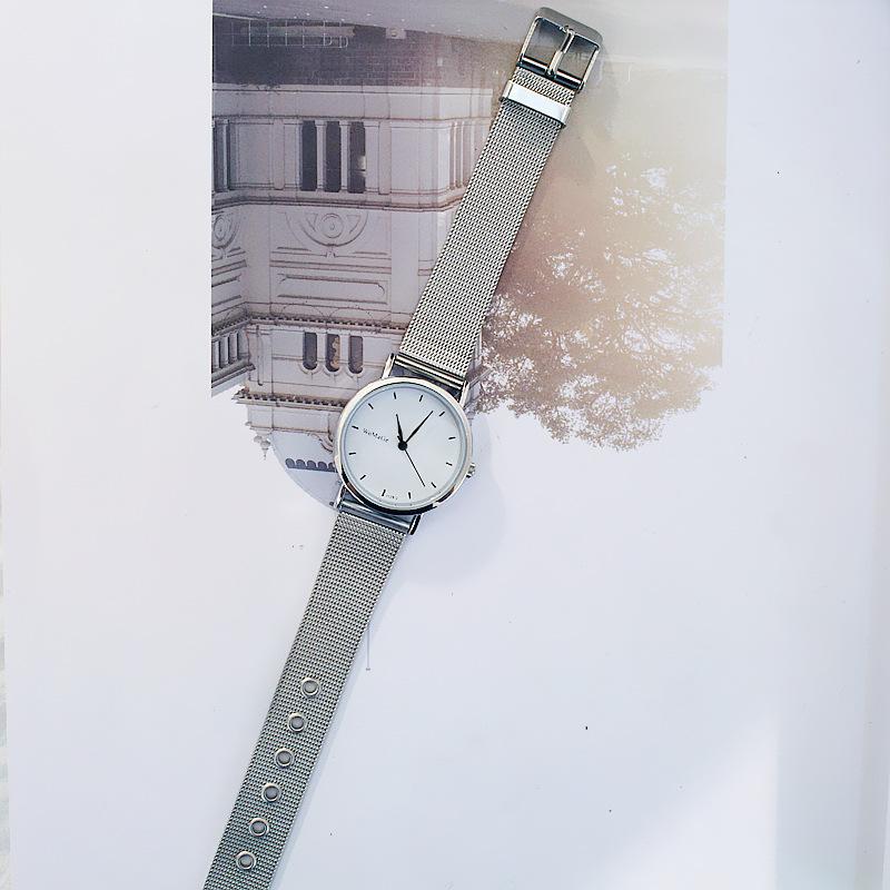 Đồng hồ dây đeo kim loại (Nam và Nữ)