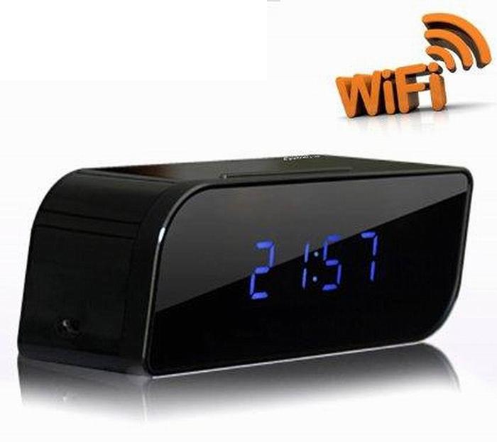 Camera WiFi đồng hồ để bàn