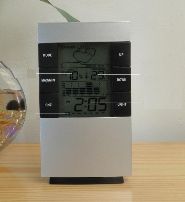 Nhiệt kế điện tử và đo độ ẩm trong nhà
