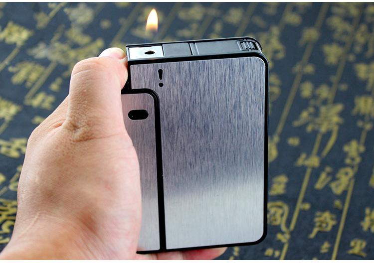 Bật lửa kiêm bao đựng thuốc lá Focus