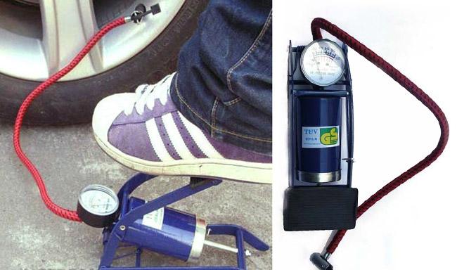 Bơm hơi đạp chân Foot Pump