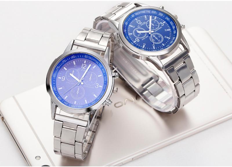 Đồng hồ nam Vivo  cá tính dây inox