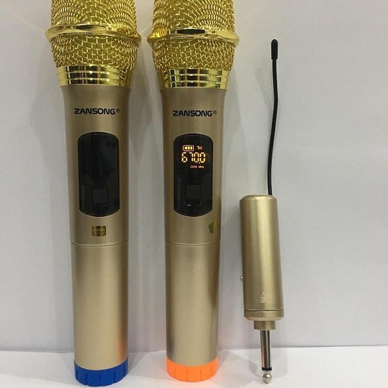Micro không dây Zansong S28 (2 micro)