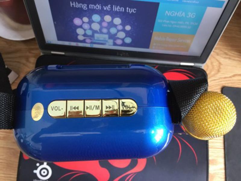 Loa karaoke YS-A20 tặng kèm 1 micro ko dây