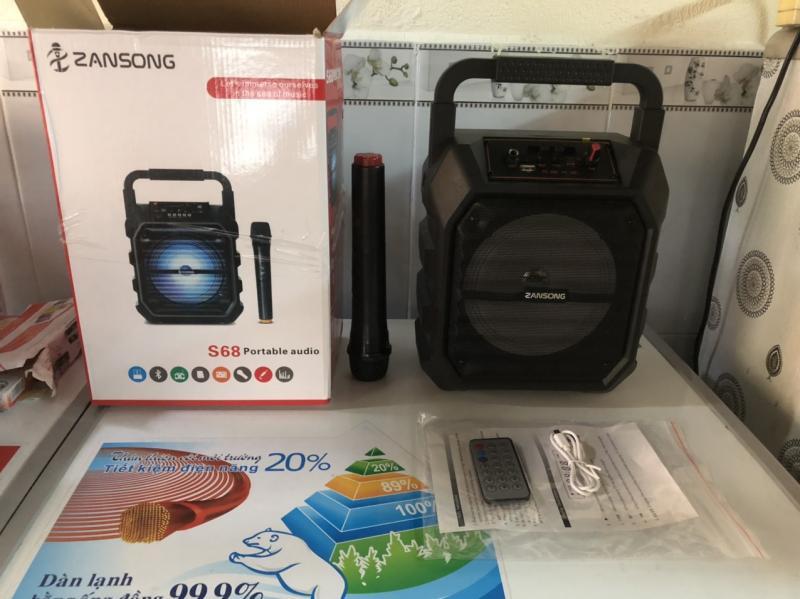 Loa karaoke Zansong S68 tặng 1 micro