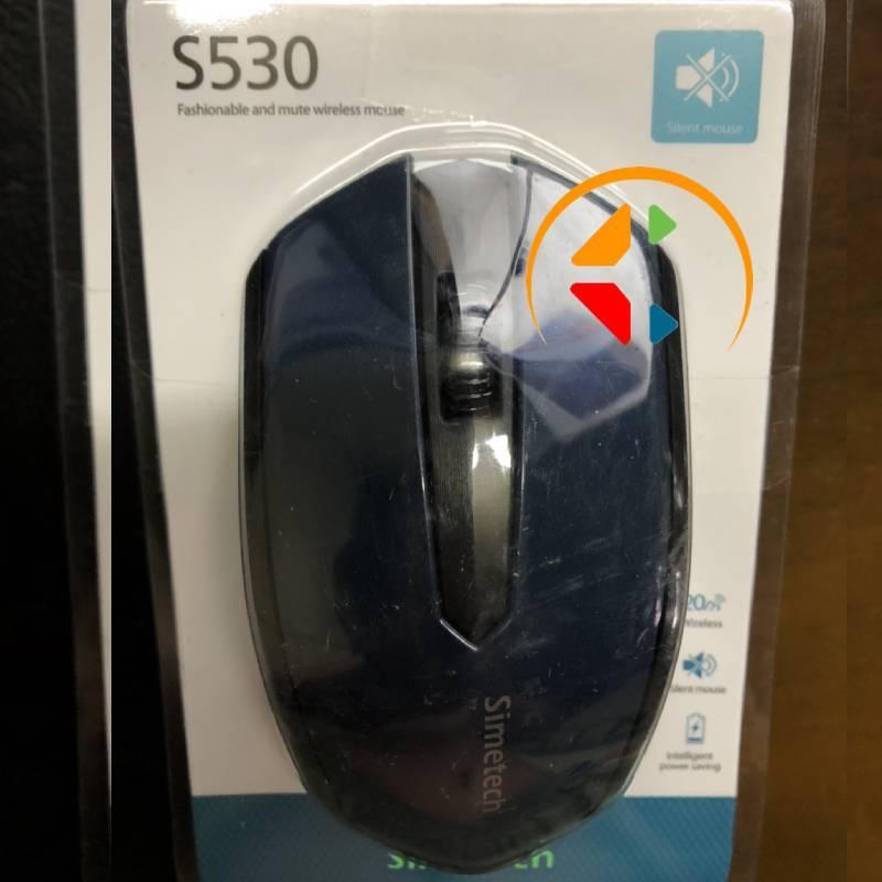 Chuột ko dây simetech s530 chính hãng