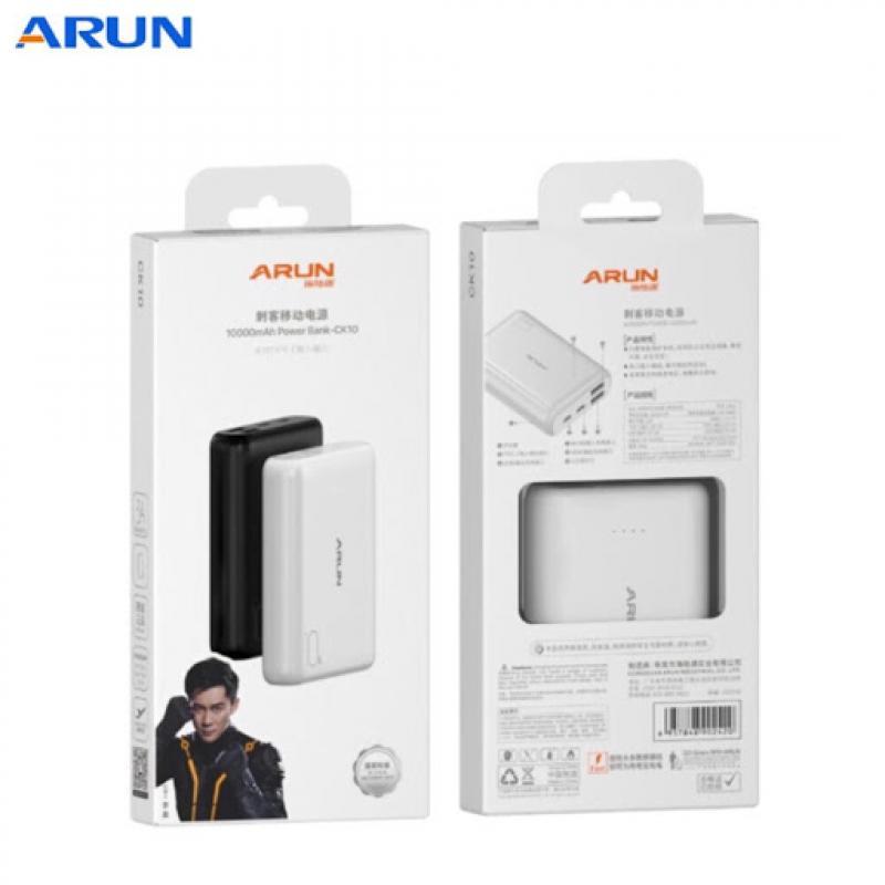 Pin sạc dự phòng Arun mini 3 10.000mAh chính hãng