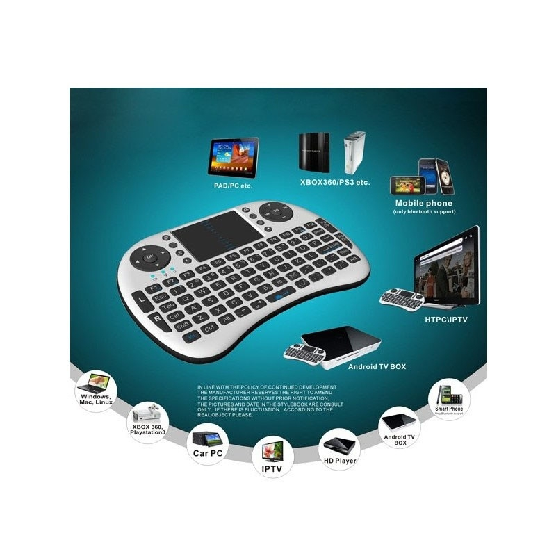 Bàn phím kiêm chuột không dây UKB 500 RF Mini Keyboard