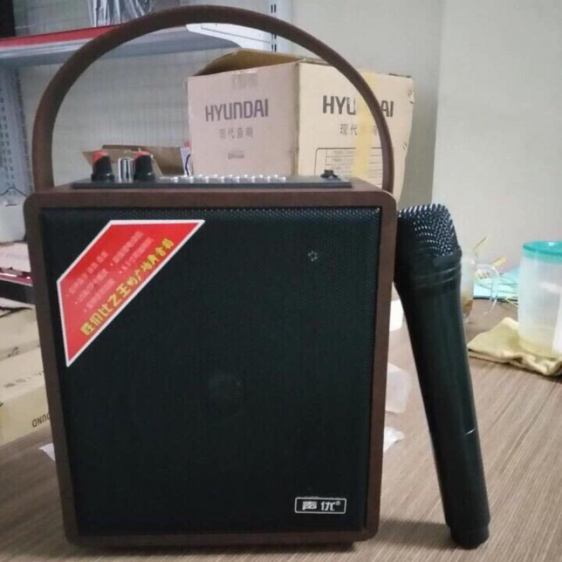 Loa karaoke A061 kèm 1 mic ko dây có dây đeo