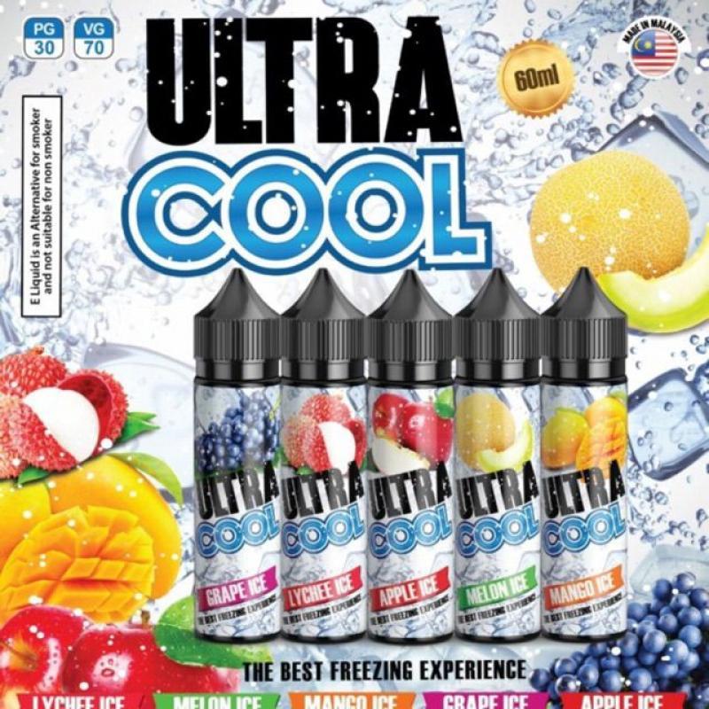 Tinh dầu vape Ultra Cool 60ml hương vị chanh