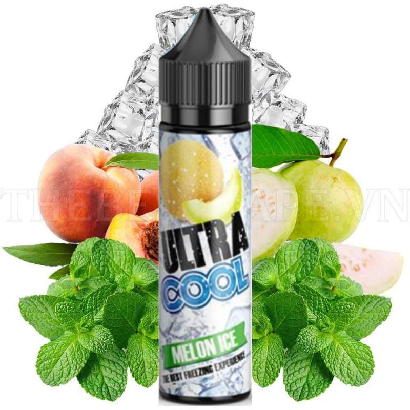Tinh dầu vape Ultra Cool 60ml hương dưa