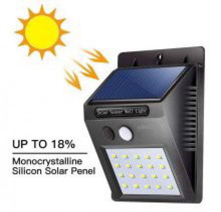 Đèn năng lượng mặt trời cảm biến chuyển động