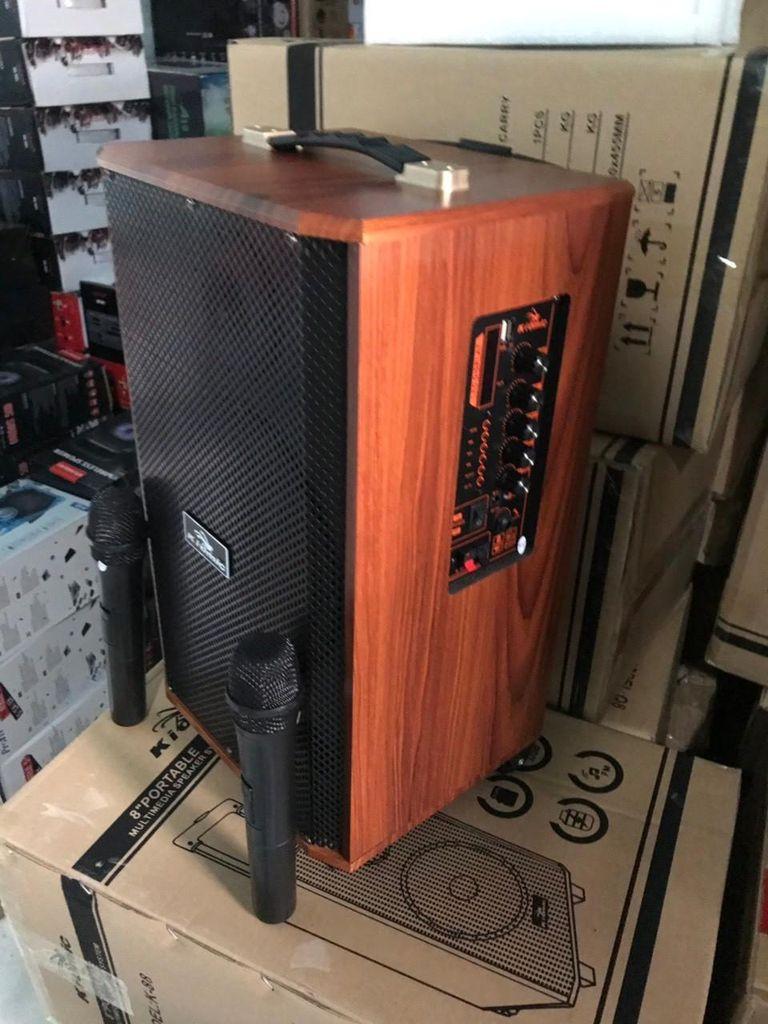 Loa karaoke Kiomic K88 kèm 2 micro không dây